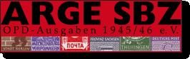 SBZ DDR Philatelie OPD
